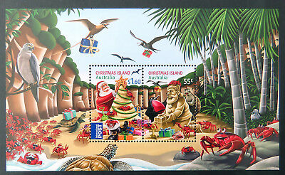 2012 Christmas Island Stamps - Christmas Mini Sheet MNH