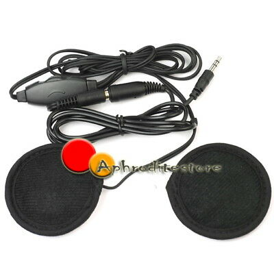 Jack 3,5mm Auricolare Cuffie Casco Earphone per Moto Scooter Hot