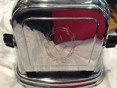 Vintage Art Deco Flip Toaster Bersted Mfg. Co.