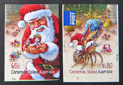 2014 Christmas Island Stamps - Christmas - Set of 2 P&S MNH
