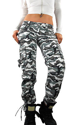 damen army military cargo bundeswehr h ft hose army. Black Bedroom Furniture Sets. Home Design Ideas