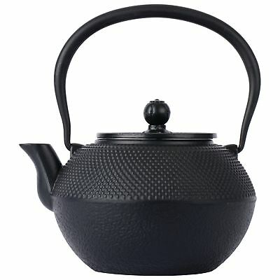 Cast Iron Tea Pot Steamer Fireplace Black Vintage Wood Stove Cast Iron Kettle