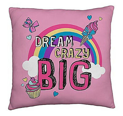 JoJo Siwa Cushion - Dream Crazy Big JoJo Bows