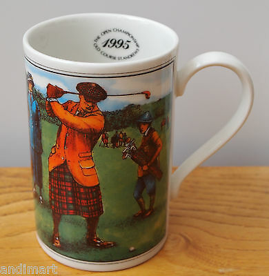 Dunoon Stoneware China Mug - 1995 Golf Open Championship St Andrews Old Course