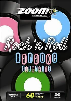 Zoom Karaoke Rock N Roll Superhits DVD Region Free New Sealed