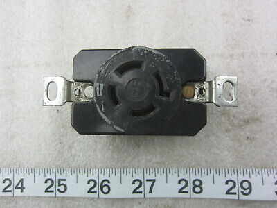 P&S Pass & Seymour 20A 125/250V Hubbell 2410 Style Locking Receptacle L14-20R