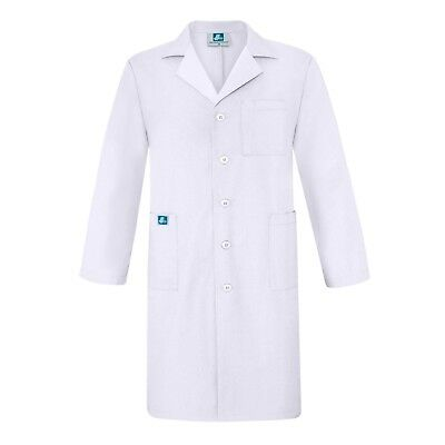 Adar Unisex Doctor Nurse Scrub Uniform Lapel Collar Inner Pockets Lab Coat - 39""
