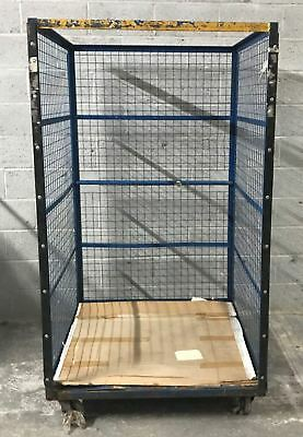 Blue Large Open Front Metal Warehouse Storage Container