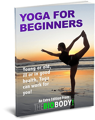 Yoga For Beginners E-book PDF Free Shipping + Bonus Ebook Resellright