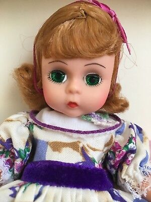 """VTG Madame Alexander 8"""" MOTHER'S DAY Doll 1982 Red Hair Green Eyes 10382 NRFB"""