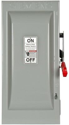 Heavy Duty 100 Amp 240 Volt 3 Pole Indoor Fusible Safety Switch Neutral Best New