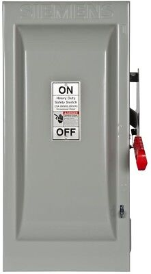 Heavy Duty 100 Amp 240 Volt 2 Pole Indoor Fusible Safety Switch Neutral Best New