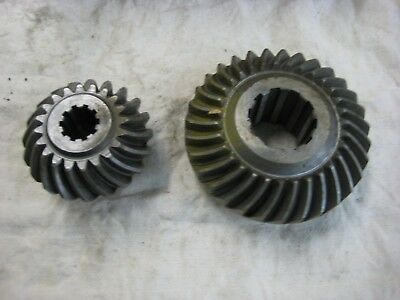 Volvo Penta Factory Nos Lower Gear Set 270 280 & 290A Drive 832624 1.61:1 Ratio