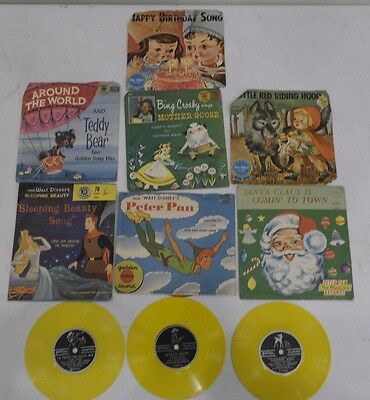 Vintage Little Golden Records Blue Ribbon Records RPM Lot Wyatt Earp and more!