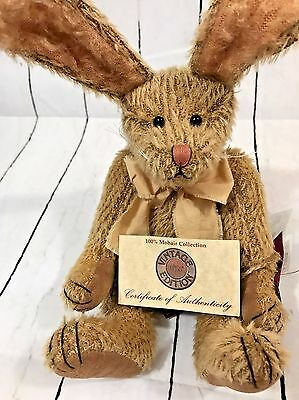 RARE Vintage Russ Mohair Collection BRISBANE Bunny LIMITED EDITION #7872 NEW