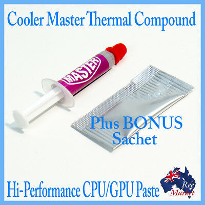 Cooler Master Thermal Compound Kit - High Performance - Brand New - Free Post