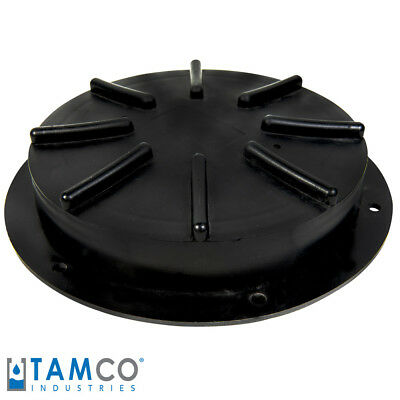 """12-1/2"""" Threaded Lid & Flange Assembly for Tamco (R) Tanks"""