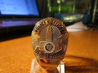 Large Vintage Los Angeles Police Officer Law Enforcement Lapel Pin #17