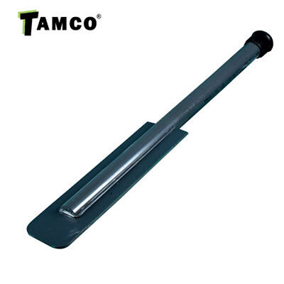"""72"""" PVC Tank Paddle with 3-3/8"""" x 12"""" x 3/16"""" Blade"""