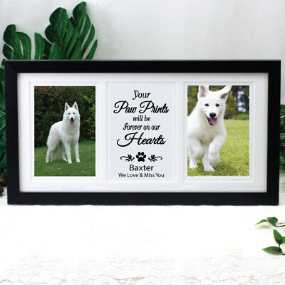 Pet Memorial Typography Gallery Frame - Made to Order
