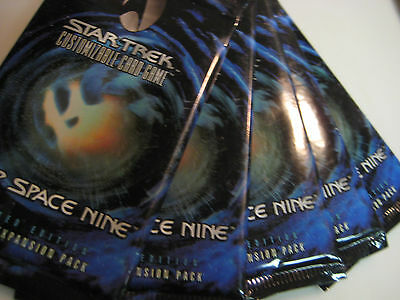 STAR TREK CCG Deep Space 9 Booster Pack x5!!!, DS9, Shipping Discount