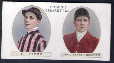 Ogdens-Owners Horse Racing Colours & Jockeys (Green Back)-#20- Piper