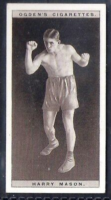 Ogdens-Pugilists In Action-#27- Boxing - Harry Mason