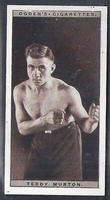 Ogdens-Pugilists In Action-#31- Boxing - Teddy Murton