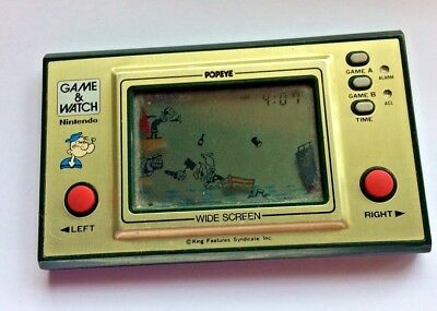 Popeye 1981 Nintendo Game and Watch