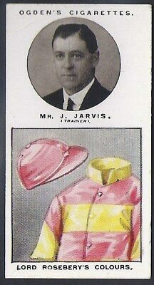 Ogdens-Trainers & Owners Horse Racing Colours (1St Series)-#09- Jarvis