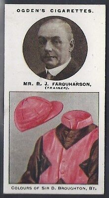 Ogdens-Trainers & Owners Horse Racing Colours (2Nd Series)-#14- Farquharson