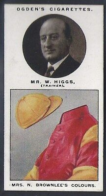 Ogdens-Trainers & Owners Horse Racing Colours (2Nd Series)-#17- Higgs