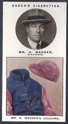 Ogdens-Trainers & Owners Horse Racing Colours (2Nd Series)-#19- Madden