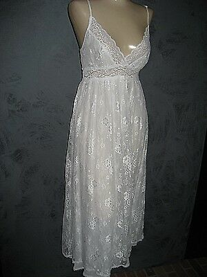 Claire Pettibone Bridal White Gown HARMONY Wedding Lace Ballet Length L NeW $170