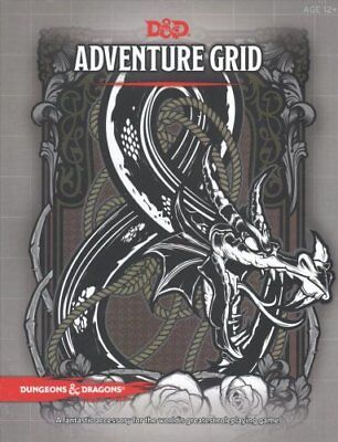 Dungeons & Dragons Adventure Grid by Wizards RPG Team 9780786966219 (Toy, 2017)
