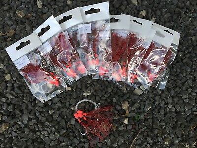 10x Sabiki Rigs No1 Flathead snapper rigs , 4/0 hooks excellent item . #4