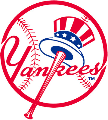 New York Yankees MLB Color Die-Cut Decal / Sticker *Free Shipping