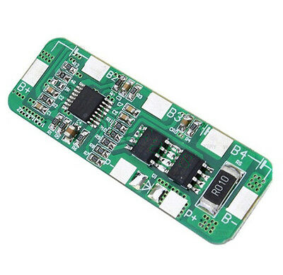 4A-5A PCB BMS Protection Board for 4Packs 18650 Li-ion lithium Battery Cell NEW