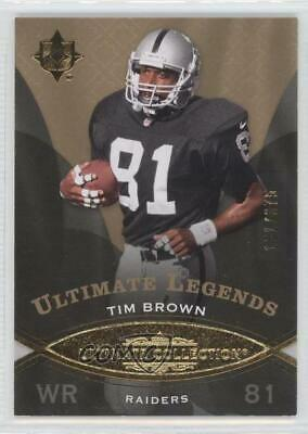 2009 Upper Deck Ultimate Collection/375 #139 Tim Brown Oakland Raiders Card