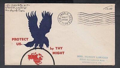 USa 1940-44 WWII PATRIOTIC COVER & TWO PATRIOTIC FIRST DAY COVERS