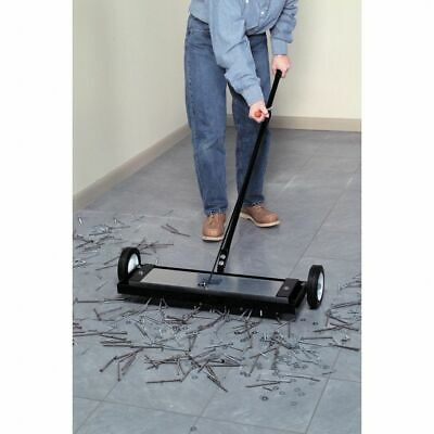"1x 14"" Heavy Duty Magnetic Sweeper With RELEASE Warehouse Broom Factory Shops"