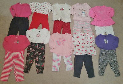 Baby Girl Clothes Lot -Size 9 Months