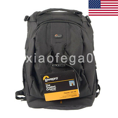 Lowepro Flipside 400 AW DSLR Camera Photo Bag Backpack & Weather Cover In USA!