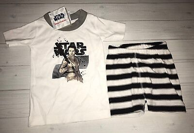 NWT $42 Hanna Andersson Star Wars Rey Pajamas Size 80 18 24 Months
