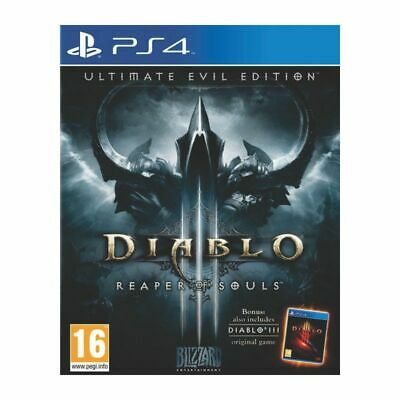 Diablo III 3 Reaper of Souls Ultimate Evil Edition PS4 Game Sony PlayStation 4