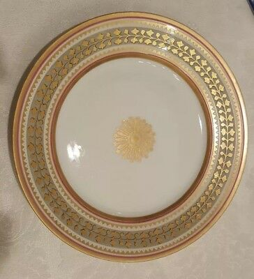 Russia Russian Imperial Porcelain Plate Babigon Service 1898