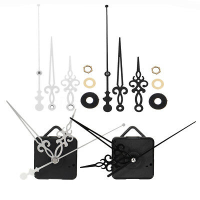 Replacement Silent Quartz Clock Mechanism Multiple Movement Hands DIY Repair Kit