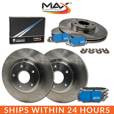 13 14 15 Ford C-Max Hybrid SE / SEL OE Replacement Rotors M1 Ceramic Pads F+R