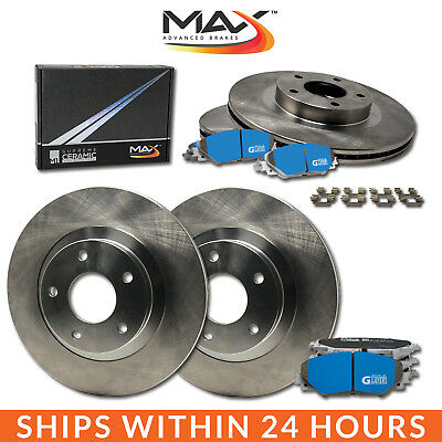 2011 2012 2013 Mazda 3 2.0L OE Replacement Rotors M1 Ceramic Pads F+R