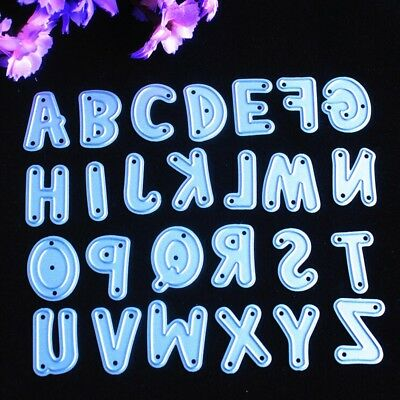 Large Height Alphabet Metal Cutting Dies Stencils for DIY Scrapbooking/photo LAD